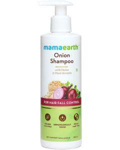 MAMAEARTH Onion Shampoo for Hair Growth and Hair Fall Control, 250 ml