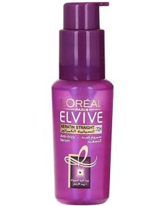 L'Oréal Paris Elvive Keratin Straight Anti-frizz Serum, 50 ml