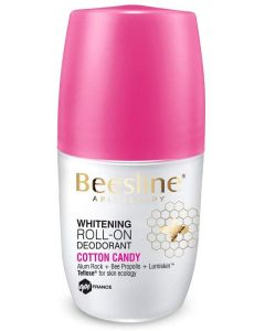 Beesline Whitening Roll-On Deodorant - Cotton Candy