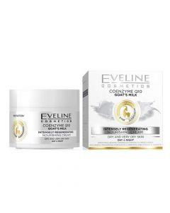 Eveline Coenzyme Q10 Goat's Milk Intensely Regenerating Nourishing Cream 50Ml (2265)