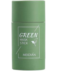 Green Tea Purifying Clay Stick Mask, Face Moisturizes Oil Control, Deep Clean Pore, Improves Skin,for All Skin Types Men Women