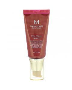 Missha, M Perfect Cover BB Cream, SPF 42 PA +++, 23 Natural Beige, 1.7 oz (50 ml)