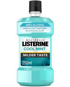 LISTERINE, Mouthwash, Zero Alcohol, Mild Mint, 250ml