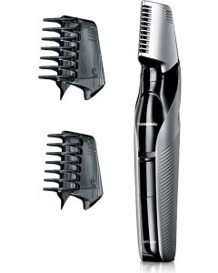 Panasonic Body Trimmer ER-GK60 with 3 attachments Electric Razor for Men for Gentle Skin, for Wet and Dry Shaving, Hair Trimmer for Head and Body