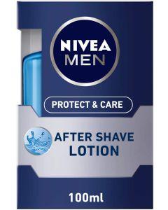 NIVEA MEN Protect & Care After Shave Lotion, Aloe Vera & Provitamin B5, 100ml