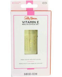 Sally Hansen Vitamin-E Nail & Cuticle Oil 0.45 Ounce (13.3ml) (2 Pack)