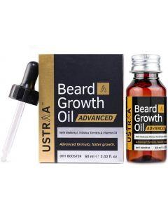 Ustraa Beard Growth Oil- Advanced - 60 ml