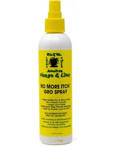 Jamaican Mango & Lime No More Itch Gro Spray, 8 Ounce