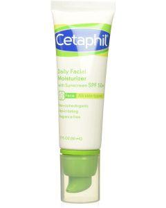 Cetaphil Daily Facial Moisturizer with Sunscreen, SPF 50 , 1.7 Fluid Ounce
