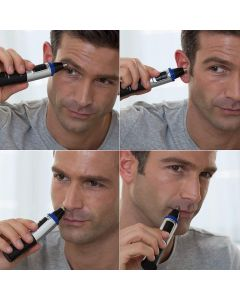 Panasonic ER-GN30 Nose Ear & Facial Hair Wet And Dry Trimmer