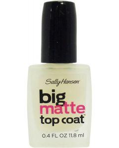 Sally Hansen Big Matte Topcoat 0.4 Ounce (11ml) (6 Pack)