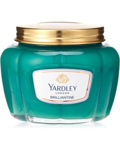 Yardley English Lavender Brilliantine, hair pomade, hold and shape hair, adds shine, subtle refreshing scent - 150 Gm