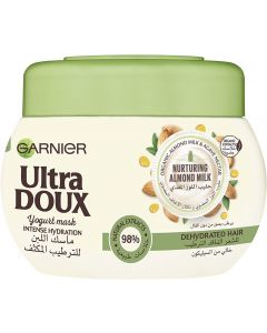 Garnier Ultra Doux Almond Milk Intense Hydration Yogurt Mask, 300 ml
