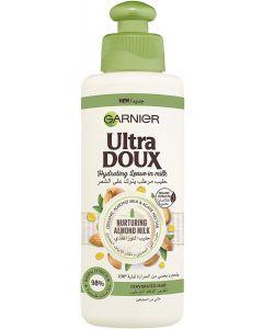 Garnier Ultra Doux Almond Milk Hydrating Leave-In Milk, 200 ml
