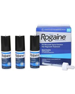 Rogaine Extra Strength 5% Minoxidil , 3-Month Supply