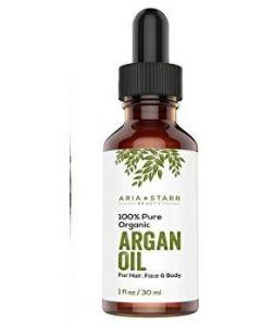 Aria Starr Organic Argan Oil For Hair, Skin, Face, Nails, Beard & Cuticles, 30 ml