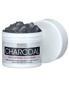 ADVANCED CLINICALS CHARCOAL DETOXIFYING CLAY MASK
