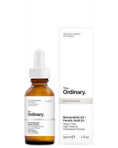 Resveratrol 3% and Ferulic Acid 3% for antioxidant support