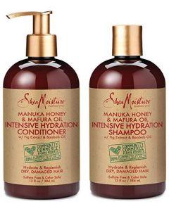 SheaMoisture Manuka Honey & Mafura Oil Intensive Hydration Shampoo & Conditioner