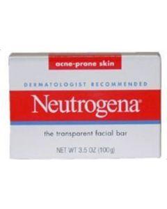 Acne-Prone Skin Formula Transparent Facial Bar by Neutrogena for Unisex - 3.5 oz Facial Bar