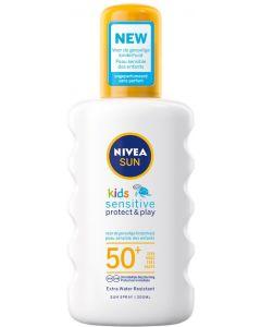 Nivea Sun Kids Protect and Sensitive Sun Spray, 200 ml