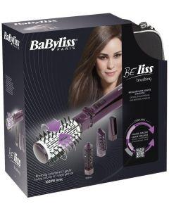 Babyliss 2736E BeLiss Brushing Rotating Brush 4 Attachments 1000 Watts - Purple