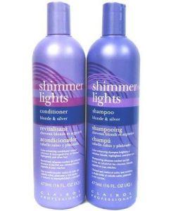 Clairol Shimmer Lights 16 oz. Shampoo 16 oz. Conditioner