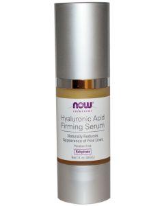 Now Foods, Solutions, Hyaluronic Acid Firming Serum, 1 fl oz (30 ml)