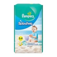 Pampers Splashers Swimming Pants (3-4) 6-12kg - 12 Count