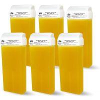 Viva Depilatory Wax refill tube Honey for hair removal (6 pieces)
