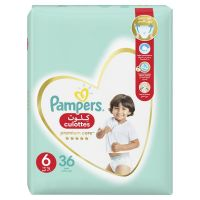 Pampers Premium Care, Size 6, Extra Large, 16+ kg, Jumbo Pack, 36 Diaper Pants